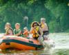 Spływ pontonami w Bieszczadach po rzece San to niepowtarzalna atrakcja. Uważamy ją jako obowiązkowy pomysł na wycieczkę. Organizatorem jest www.bieszczadyaktywnie.pl