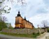 Drewniana cerkiew w Morochowie z 1837 roku na granicy Bieszczad i Beskidu Niskiego.