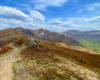 Widoki z Bukowego Berda na najwyższe szczyty w Bieszczadzkim Parku Narodowym. Tę część Województwa Podkarpackiego polecamy na wycieczki jednodniowe...