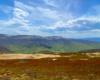 Widok z Bukowego Berda na Tarnicę i Szeroki Wierch, na które turyści wybierają się na wycieczkę najczęściej z Ustrzyk Górnych oraz z Wołosatego.