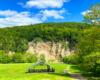 Obok skały Olza w Zawadce Rymanowskiej tradycyjnie od wielu lat jest organizowane święto rolników na zakończenie wakacji - to jedna z najpiękniejszych atrakcji w Beskidzie Niskim.