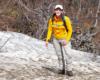 Po wyjściu z lasu na szlaku prowadzącym z Mucznego na Bukowe Berdo na północnym stoku spotkaliśmy jeszcze odrobinę śniegu - mimo, że w kalendarzu już 10 maj, a w Bieszczadzkim Parku Narodowym jeszcze odrobina zimy.