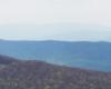 Kształty gór w Bieszczadzkim Parku Narodowym...