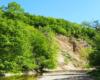 Skała Olzy, czyli odkrywka fliszu karpackiego nad doliną rzeki Wisłok w Rudawce Rymanowskiej, gdzie co roku odbywa się zakończenie wakacji - święto głównie rolników z Bieszczad i Beskidu Niskiego oraz pogórzy.