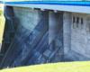 Tyle tylko można zobaczyć z budowy zapory wodnej w Sieniawie stojąc na wysokości korony tworzącej Jezioro Sieniawskie - niestety ogrodzenie daleko zostało wysunięte...
