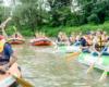 Zapraszamy do wypożyczalni pontonów - najlepszego organizatora spływów pontonami w Bieszczadach po rzece San www.BieszczadyAktywnie.pl