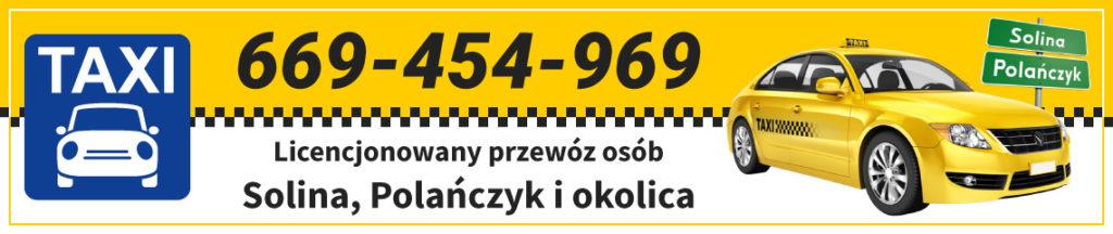 SOLINA TRANSPORT taxi z Soliny