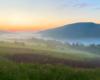 Po zachodzie słońca w Bieszczadach również może być pięknie i klimatycznie...