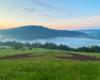 Serce na zboczach góry Berdo na granicy Soliny, Myczkowiec i z widokiem w stronę Bóbrki.