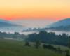 Magicznie romantyczny wieczór na granicy Soliny, Myczkowiec i Bóbrki po zachodzie słońca...