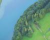 Serce na granicy Soliny, Bóbrki i Myczkowiec stworzone przez właściciela hotelu Solinianka w Solinie - to atrakcja widoczna podczas przejazdu drogą z Myczkowiec do Soliny...