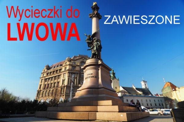 Wycieczki jednodniowe do Lwowa z Bieszczad zawieszone / odwołane za sprawą komunikatu ze strony gov.pl - została wprowadzona 14 dniowa kwarantanna związana z pandemią korona wirusa covid-19