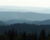 Wszystkie zdjęcia wykonaliśmy około godziny po zachodzie słońca - wtedy kształty gór w Bieszczadach najpiękniej wyglądają...