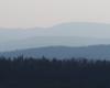 Na tym zdjęciu dominuje góra Chryszczata 997m - zdjęcie wykonaliśmy na zboczach szybowiska w Bezmiechowej z widokami na całe Bieszczady.