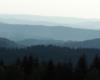 Kształty gór w Bieszczadach - ile gór jesteśmy w stanie policzyć na tym zdjęciu?