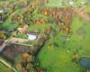 Zdjęcie Ośrodka Jeździeckiego Tarpan w Wysoczanach położonego w pobliżu granicy między Bieszczadami, a Beskidu Niskiego.