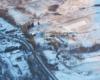 Część Turzańska z główną atrakcją miejscowości jaką jest drewniana cerkiew wpisana na Listę Światowego Dziedzictwa UNESCO - zdjęcia wykonane podczas lotu paralotnią nad Bieszczadami - to też doskonały pomysł na wycieczkę jednodniową po Województwie Podkarpackim.