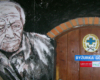 Wewnątrz schroniska, a dokładnie obok drzwi prowadzących do dyżurki Bieszczadzkiej Grupy GOPR można było zobaczyć popiersie Władka Nadopty - Majstra Biedy... - 29 wrzesień 2006.