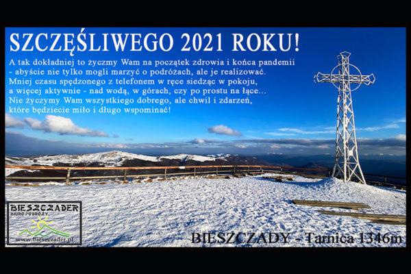 Życzenia od Załogi Biura Podróży Bieszczader na 2021 rok...jpg
