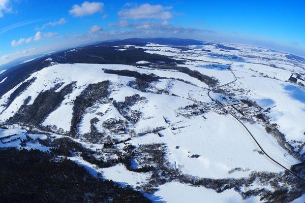 KARLIKÓW miejscowość turystyczna w Beskidzie Niskim z dawnym wyciągiem narciarskim.