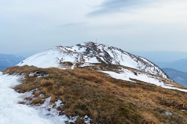 TARNICA - najwyższy szczyt Bieszczad po stronie polskiej w Bieszczadzkim Parku Narodowym zimą.