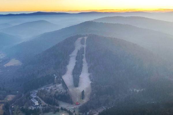 BYSTRE i wyciąg narciarski o największym nachyleniu w Bieszczadach