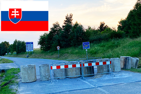 10 granic ze Słowacją od strony Polski od 5 lipca 2021 zamknięte w związku z koronawirusem covid 19